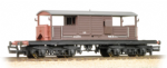 33-827C Bachmann branchline 25 Ton Queen Mary Brake Van SR Brown Small Lettering